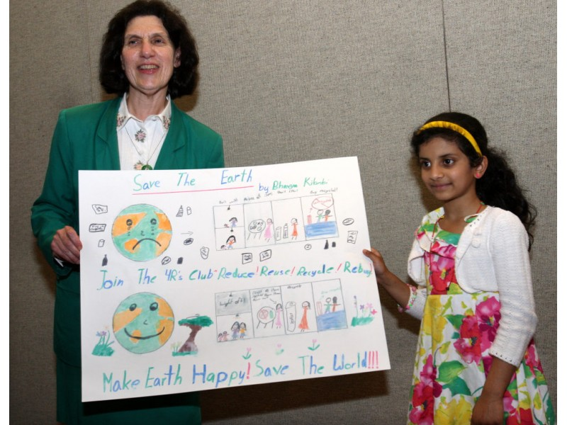 Earth Day Poster Contest Winners