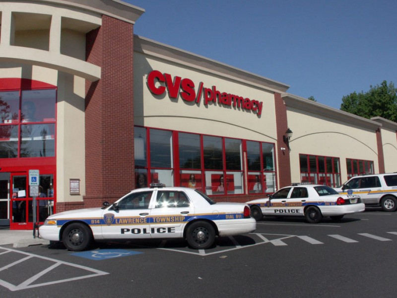 robbery reported at cvs pharmacy on darrah lane  updated