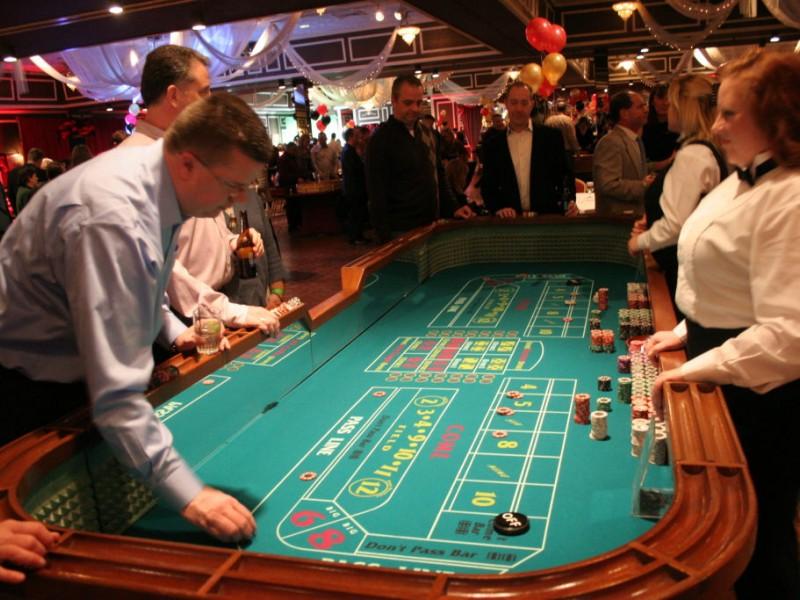 Casino night wheaton