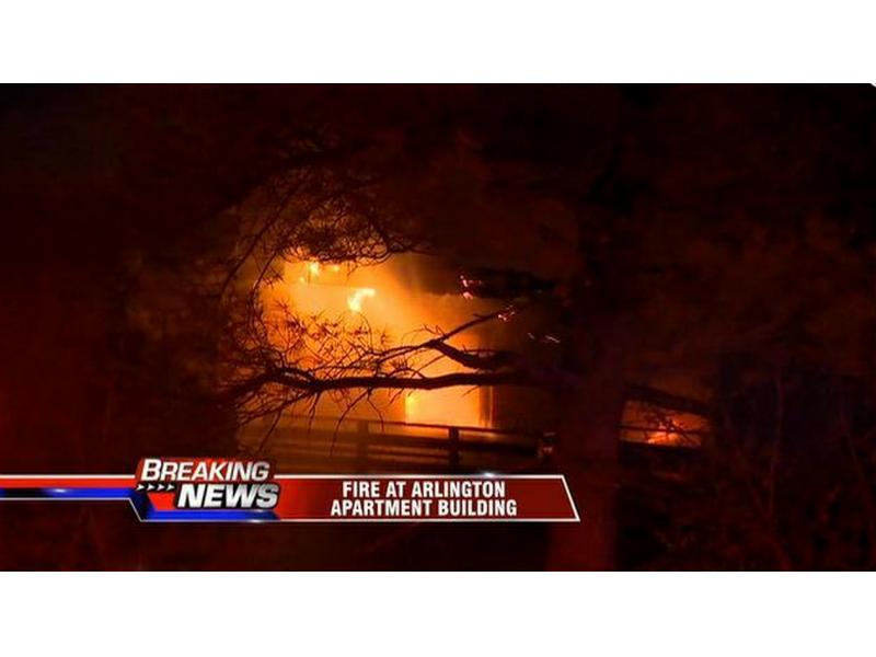 Updated 1 dead in four alarm fire at arizona terrace for 1 arizona terrace arlington ma