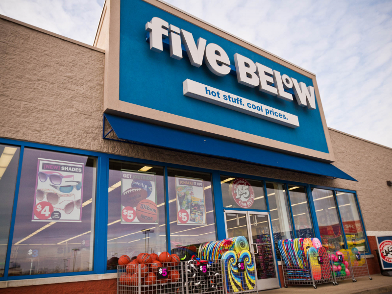 New store five below opens on route 58 friday riverhead ny patch
