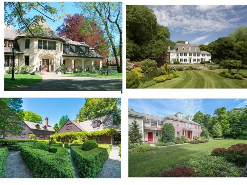 What were the most expensive homes sold in hamilton and for Most expensive house in massachusetts