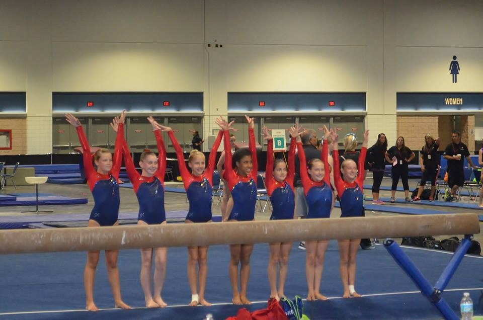 ymca national gymnastics meet 2012