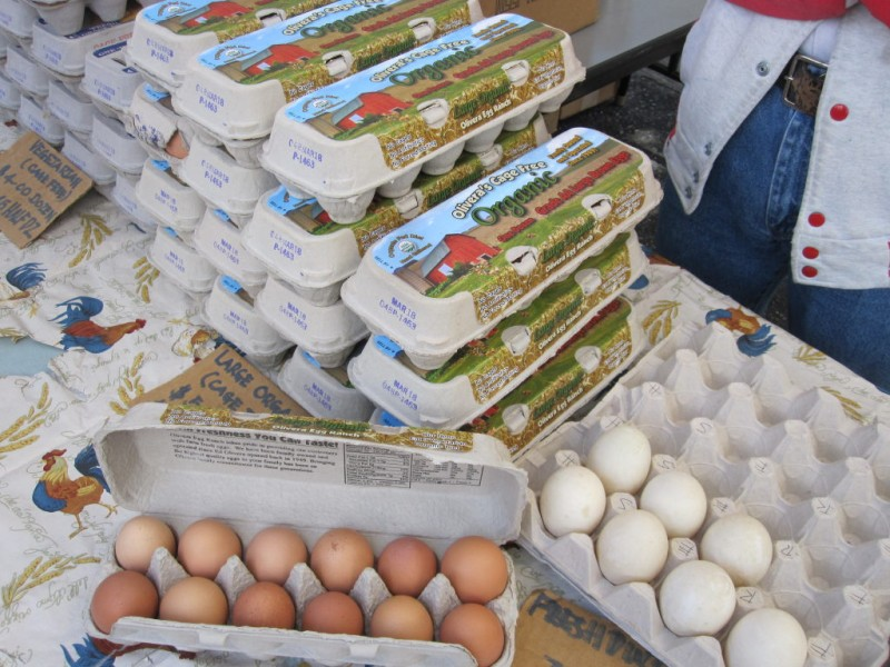 Eggs at the Campbell Farmers' Market - Campbell, CA Patch
