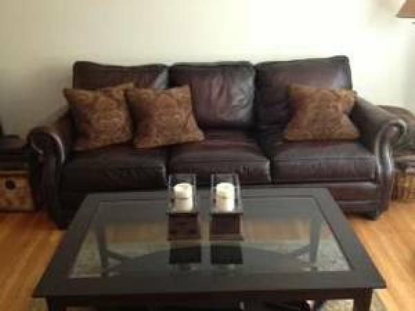 Bernhardt leather sofa for sale millburn nj patch for Bernhardt furniture for sale