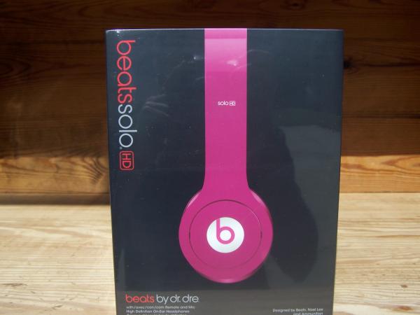 beats solo hd onear headphone pink nib 160 suwanee