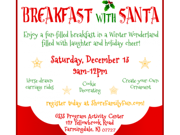 breakfast with santa   toms river nj patch