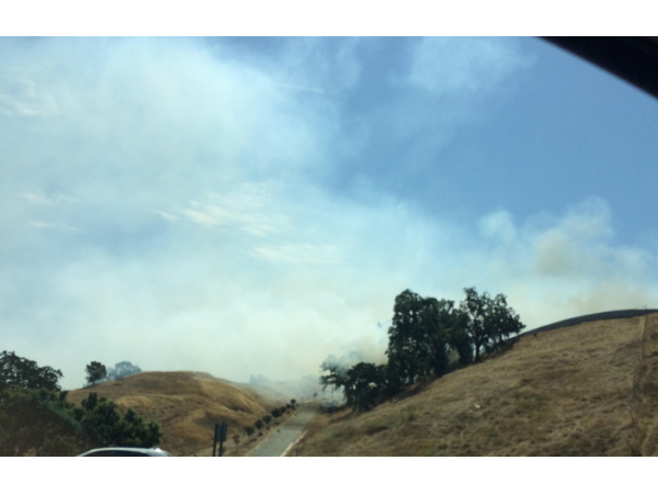UPDATE: Vegetation Fire Alongside I-680 Near Sunol Under Control - Pleasanton, CA Patch