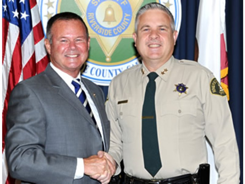 Riverside County Sheriff Department Indio Sheriff Sniff Appoints New Riverside County Assistant Sheriff