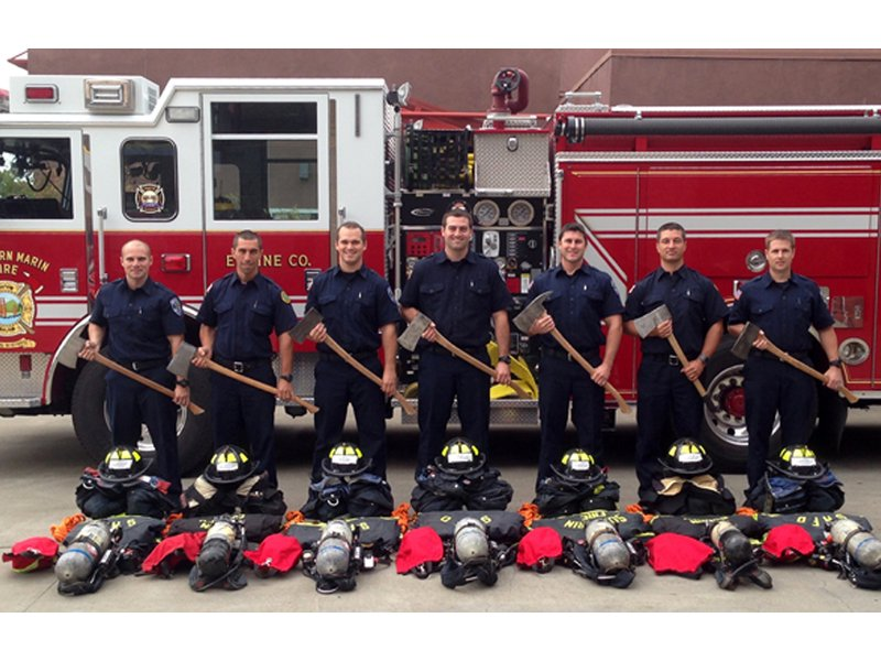 New Firefighters Graduate From Academy San Anselmo Ca Patch