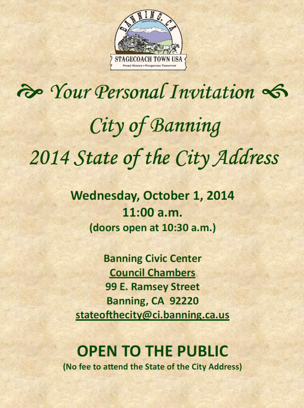 City Of Beaumont California Upcoming Building
