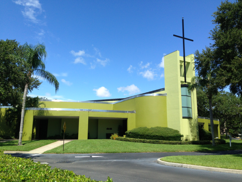 Our Lady Of Lourdes Church Gets New Green Paint Job Patch