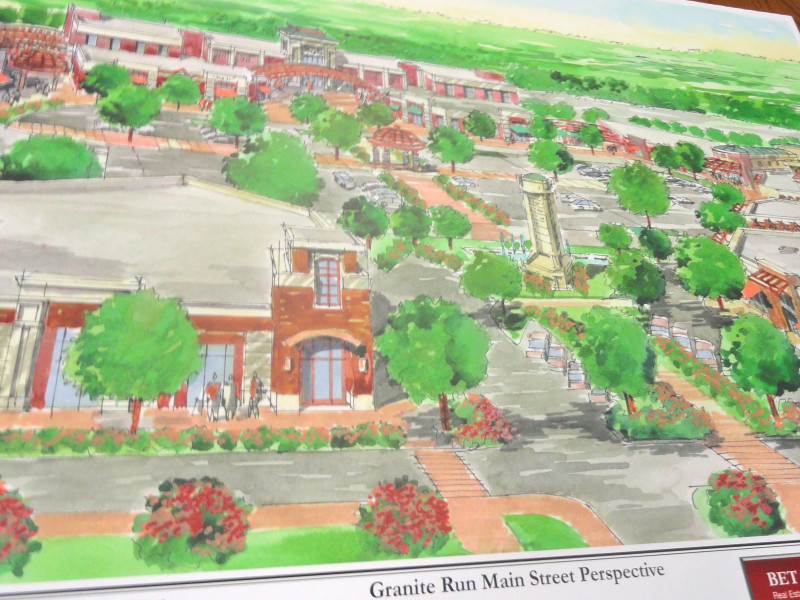 Concept Plan For Granite Run Mall Presented By Bet