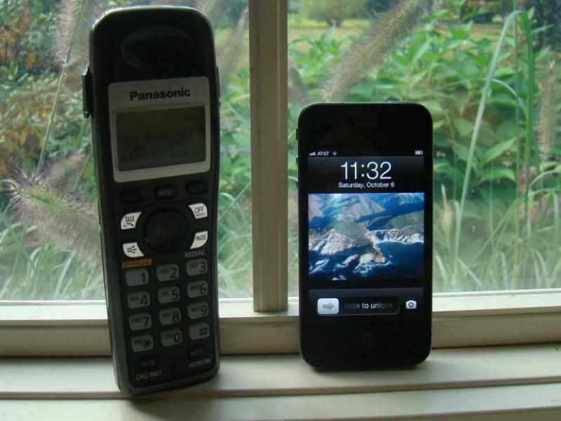 Cell phone vs landline