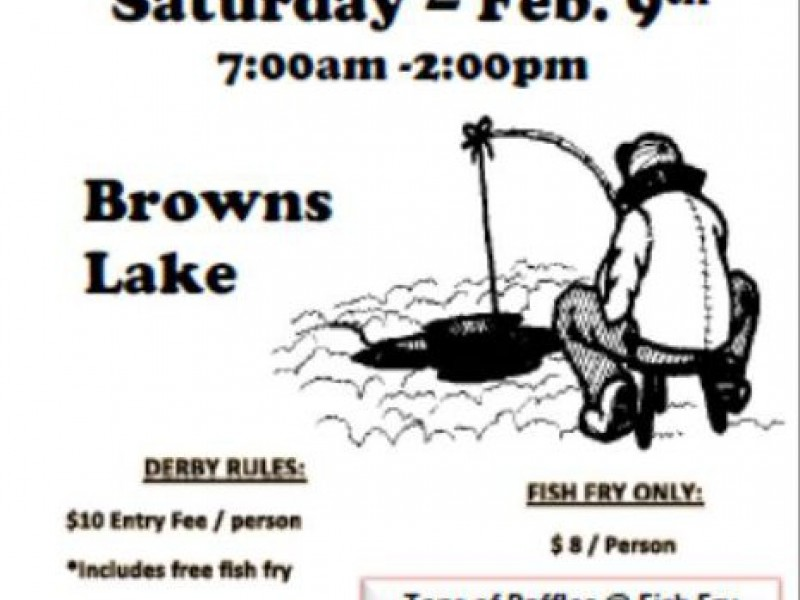 Pudgy 39 s ice fishing derby mount pleasant wi patch for Fish fry brookfield wi