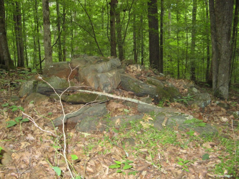 Native american burial sites dating back