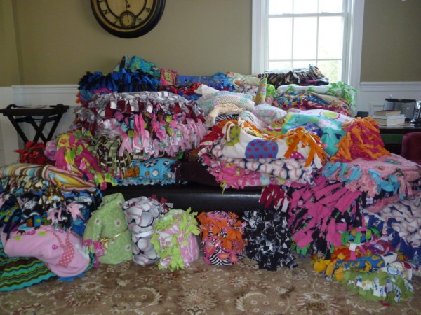 Project Linus No Sew Blanket Donations Needed