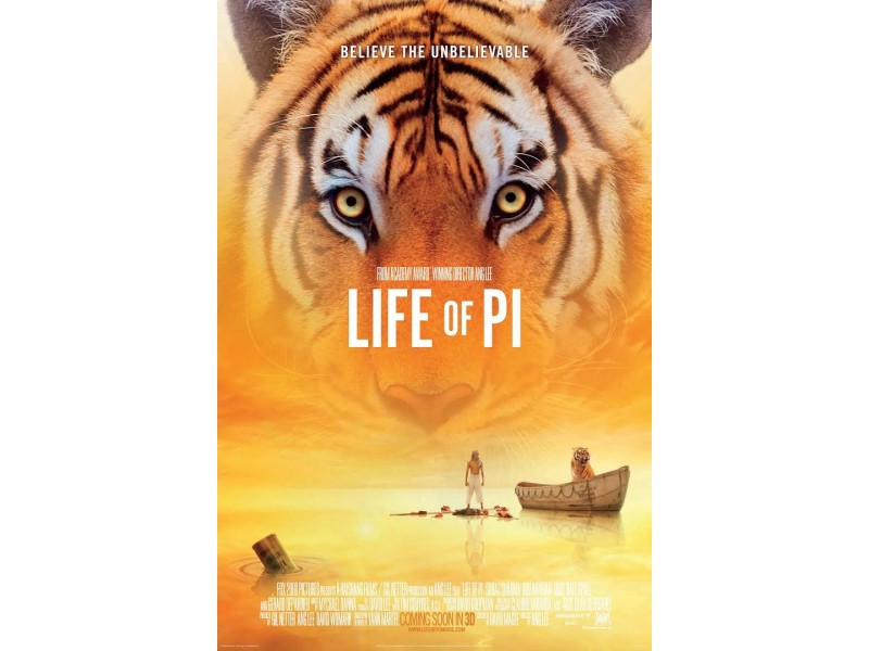 Oscar nominated 39 life of pi 39 is september 39 s film of for Life of pi characterization