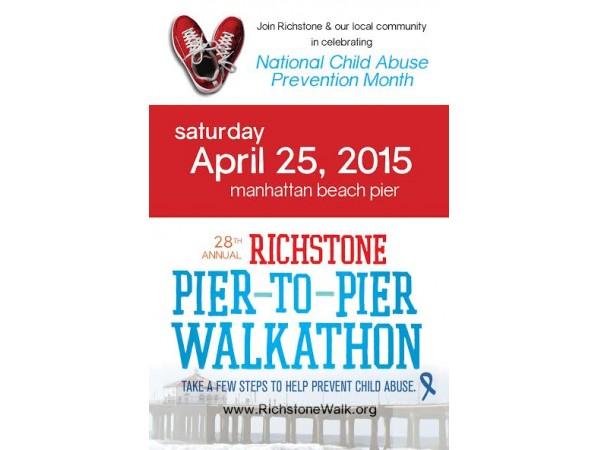 Richstone pier to pier walkathon manhattan beach ca patch for Rock n fish manhattan beach