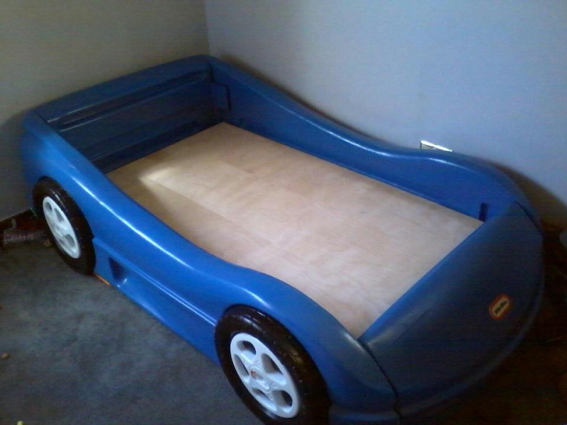 Used Crib Mattress Price Blue Toddler Race Car bed for sale - Oak Lawn, IL Patch