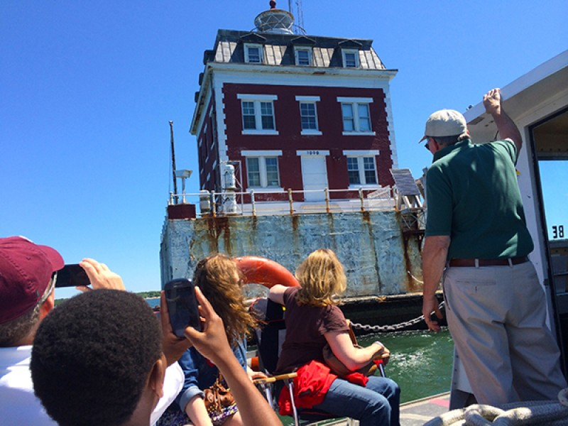 Lighthouse Tour In Newlondon Ct