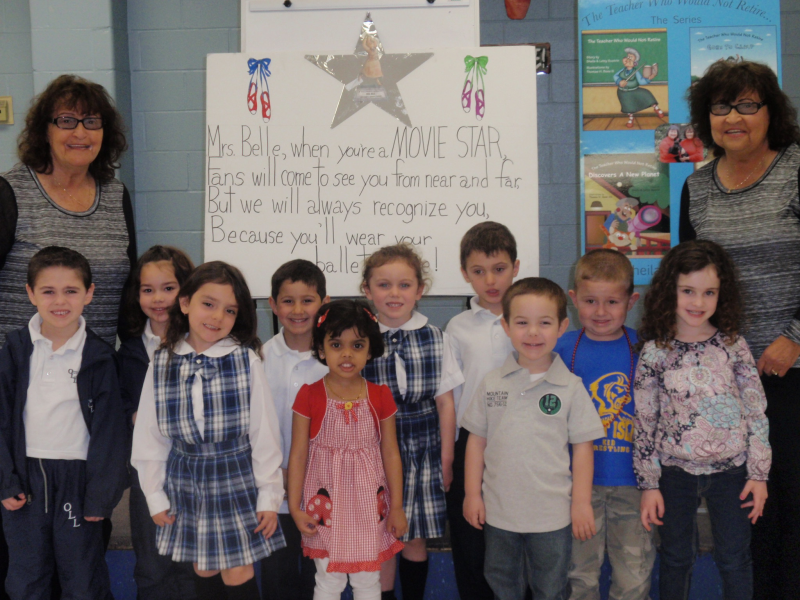 Authors Visit Students At Our Lady Of Lourdes Patch