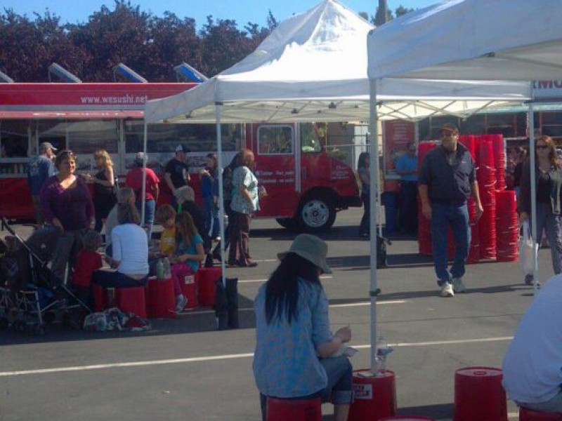 first weekly food truck farmers market starts new san mateo tradition