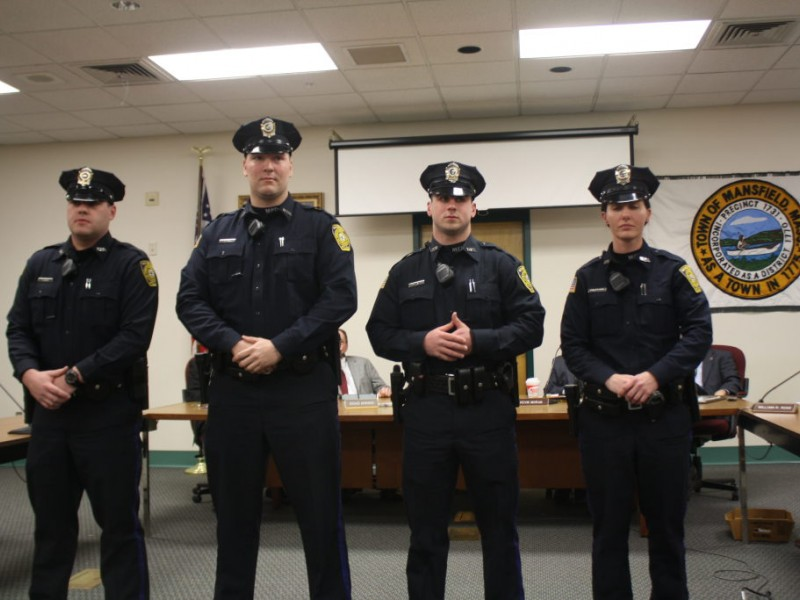 Meet Mansfield S Four Newest Police Officers Mansfield