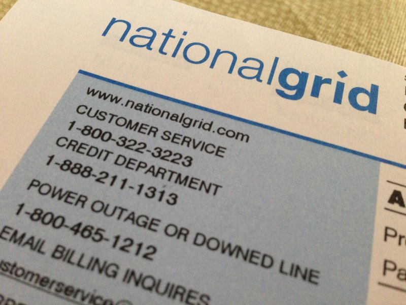 news national grid rates take