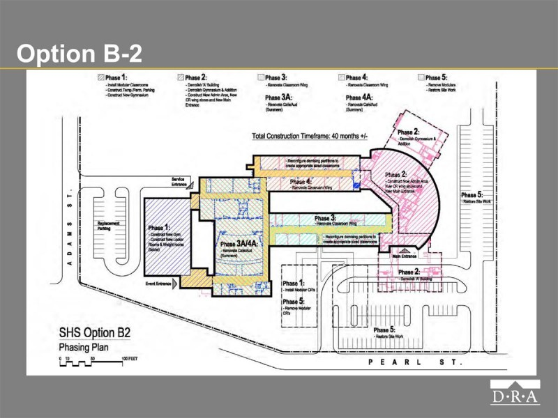school building committee closing in on stoughton high building decision stoughton ma patch. Black Bedroom Furniture Sets. Home Design Ideas