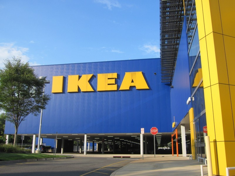 stoughton ikea warehouse workers strike patch