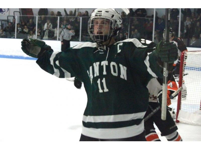 MA H.S.: Stoughton Hockey Helps Make Canton Student's Dream Come True