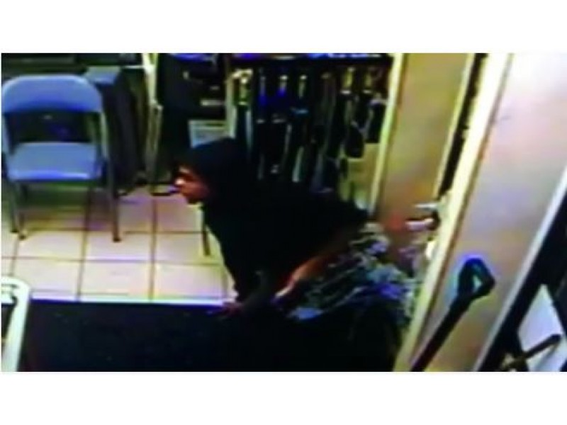 Watch Police Searching For Gas Station Break In Suspect