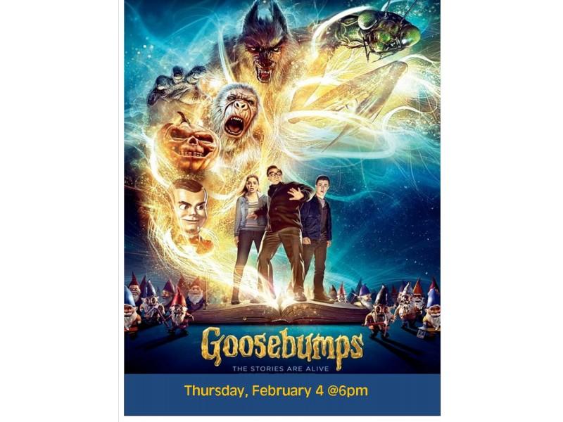 Teen/Tween Movie Night: Goosebumps | Patch