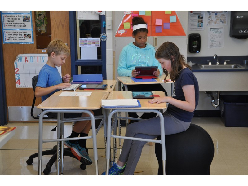 Madison School Teacher Transforms Classroom And Student Learning With Flexible Furniture