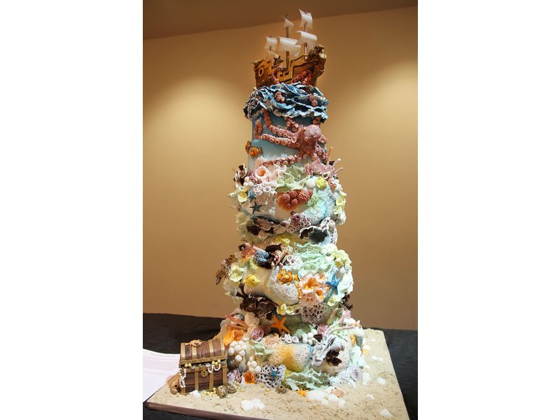 Cake Artist Nj : Cinnaminson Pastry Chef Takes 2nd Place at Art of Cake...