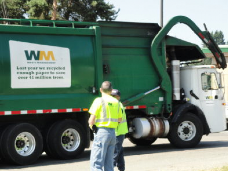 Garbage Pick Up : Trash recycling pick up canceled friday westwood