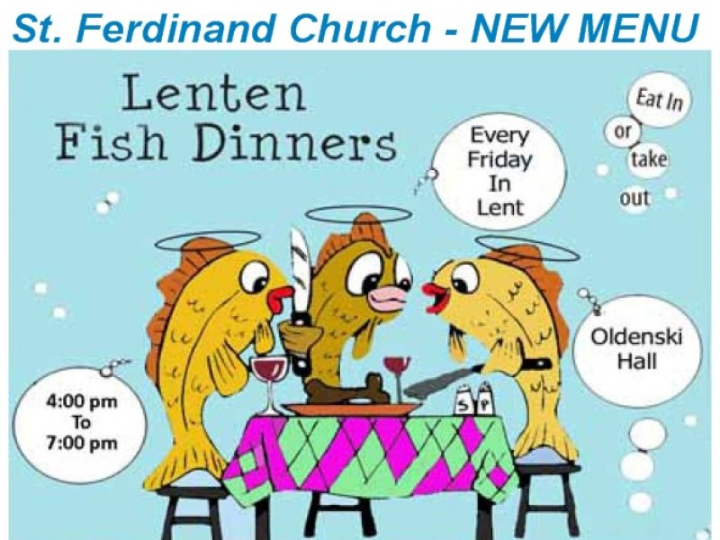 St ferdinand lenten fish fry 2016 cranberry township for Fish on fridays during lent