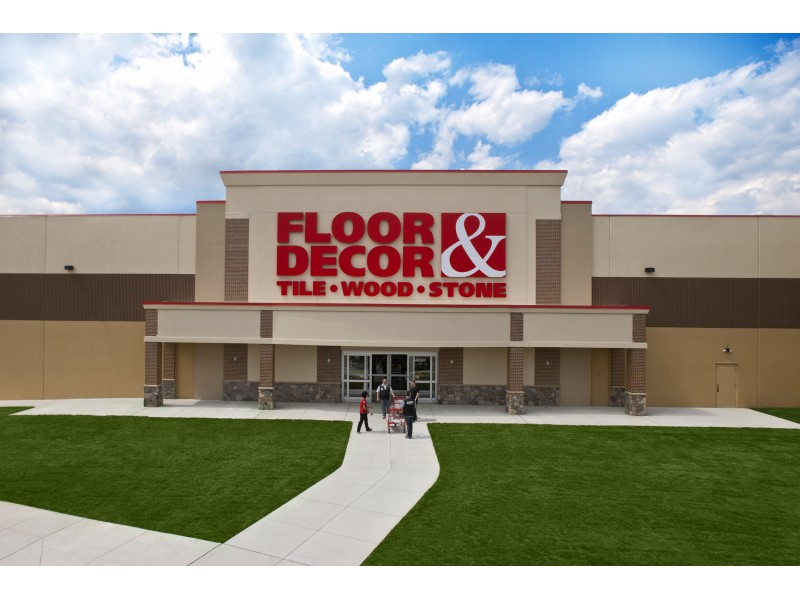 Grand opening of floor decor in levittown pa