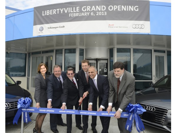 vw credit expansion includes workstations  parking spaces libertyville il patch