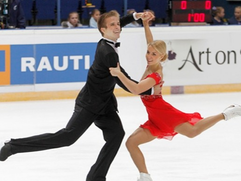 Novi Ice Dancers Dream Of Reaching Olympics Patch