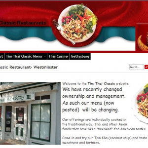 The Thai restaurant at 17 East Main Street recently changed hands.