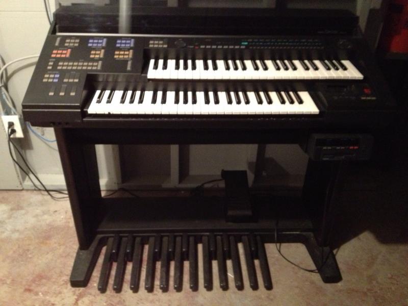 Yamaha Electone Hs 4 Keyboard Organ Patch