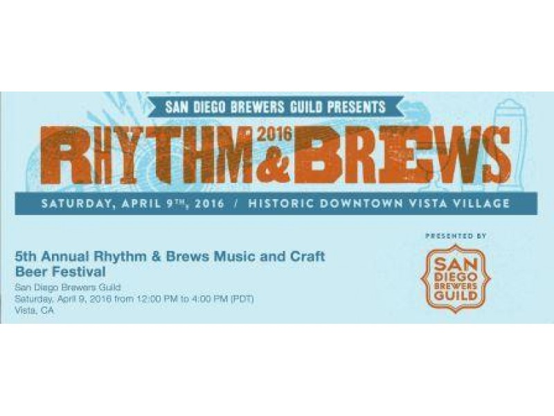 Rhythm brews music and craft beer festival patch for Craft beer guild san diego