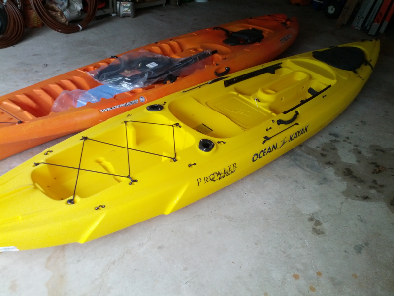 For sale ocean kayak prowler big game angler classic sit for Used fish finders craigslist