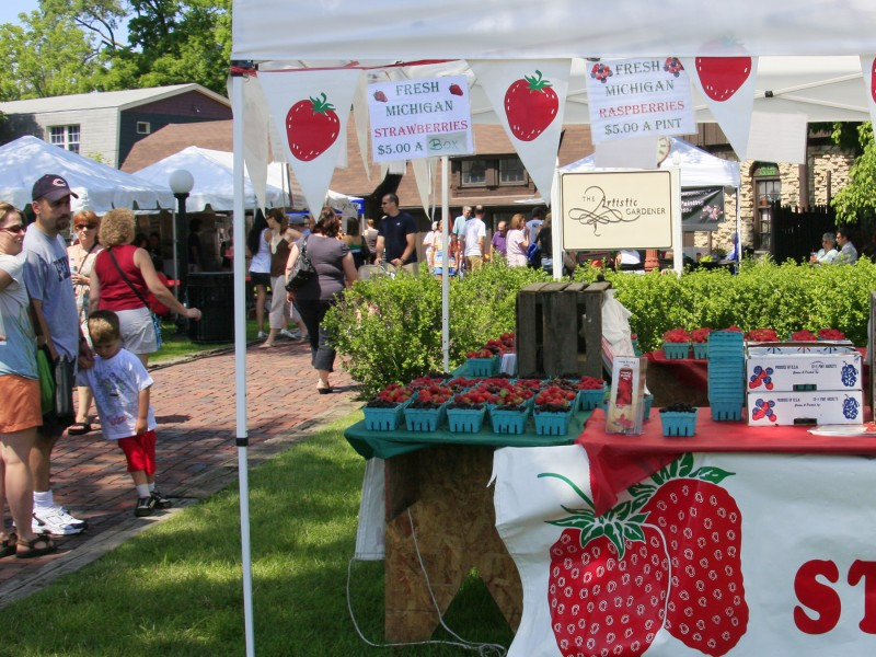 Long Grove Strawberry Festival Is Here Highland Park Il Patch