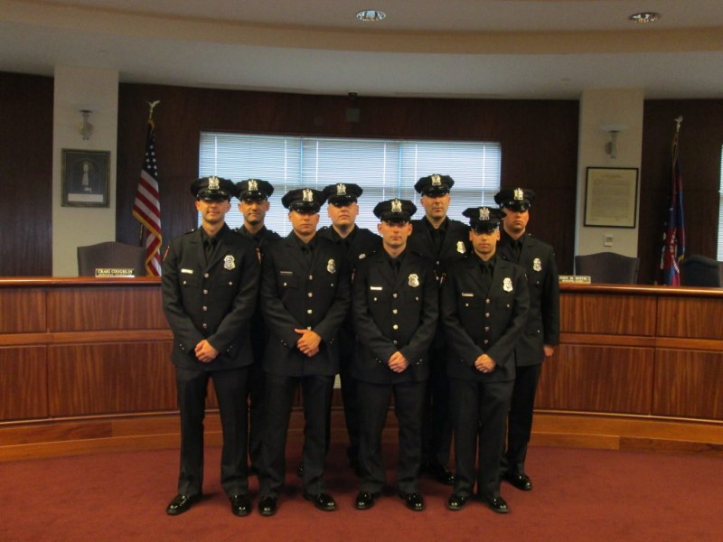 Green Brook Nj >> Woodbridge Police Welcome Eight New Officers - Woodbridge ...