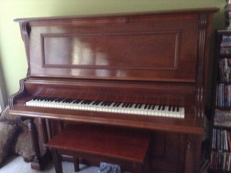 antique upright piano for sale lawrenceville ga patch. Black Bedroom Furniture Sets. Home Design Ideas