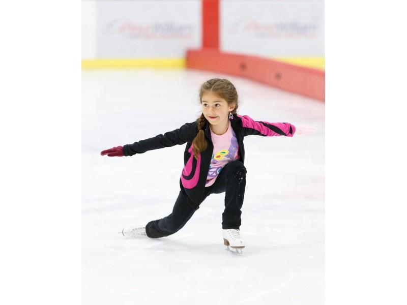 how to break with ice skates