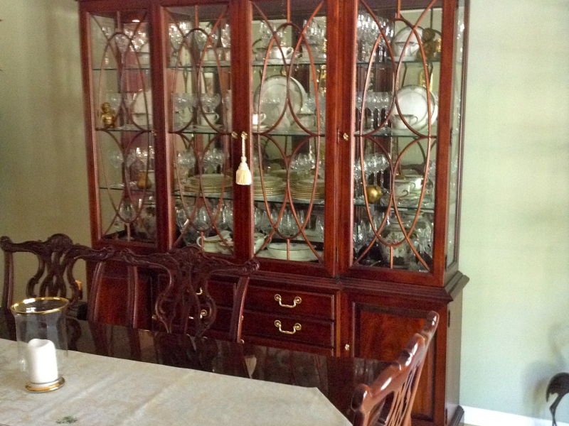 thomasville mahogany dining room for sale little silver nj patch